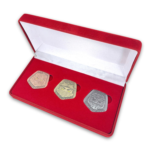 THE EMPEROR'S BLADES - Annurian Empire Coin Set - Limited Edition