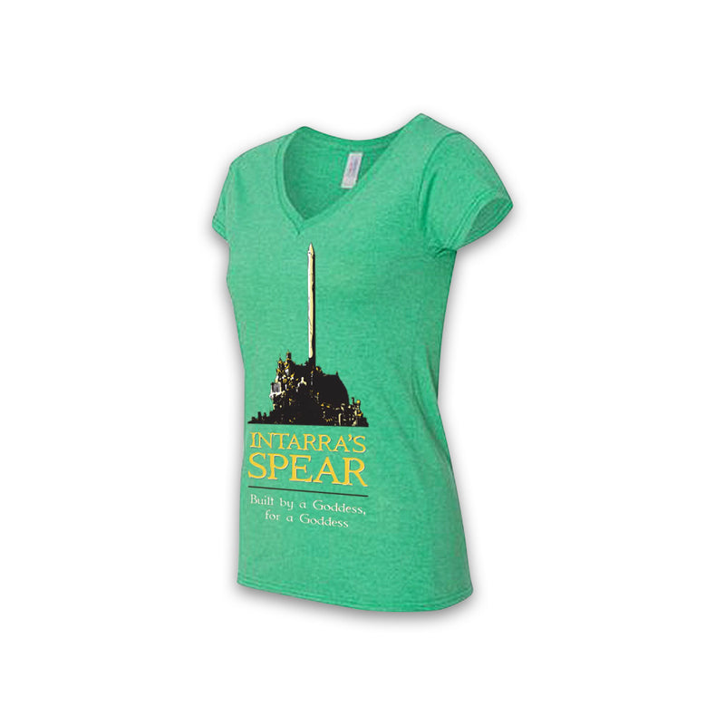 THE EMPEROR'S BLADES - Intarra's Spear Souvenir - Women's V-Neck Tee