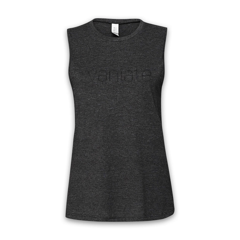 THE EMPEROR'S BLADES - Vaniate - Women's Dark Heather Muscle Tank