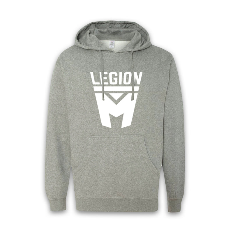 LEGION M - White Shield Pullover Hoodies