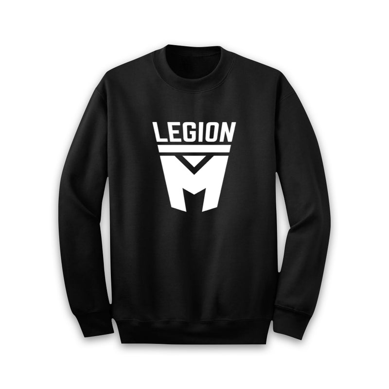 LEGION M - White Shield Pullover Sweaters