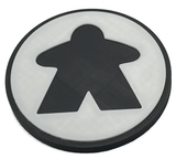 Meeple Coaster set of 4