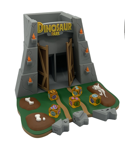 Dinosaur Park Dice Tower