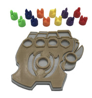 KeyForge Gauntlet amber holders + colorful amber
