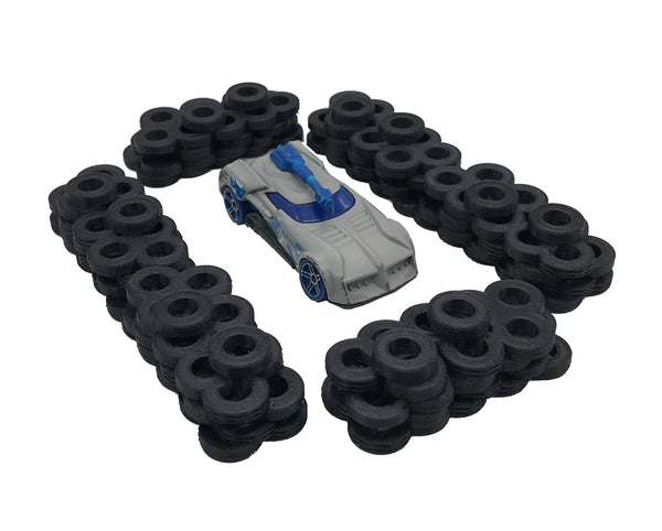 1/64th tire walls