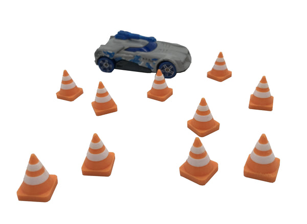 1/64th traffic cones x 10