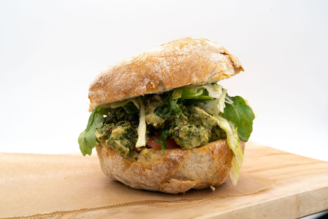 Chicken and Pesto Ciabatta