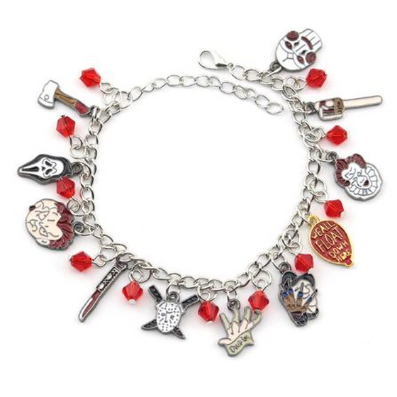 Chucky Face Stephen Kings Bracelet - Rewards Bonanza