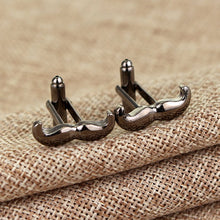 Moustache Cufflinks - Rewards Bonanza
