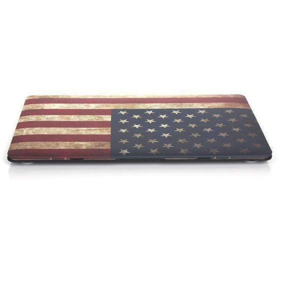 AMZER American Flag Laptop Water Stick Style Protective Case - Rewards Bonanza