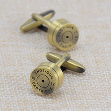 Brass Bullet Cufflinks - Rewards Bonanza