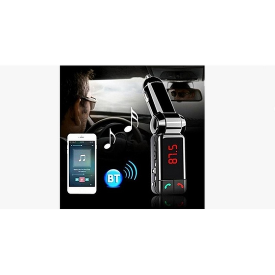 Bluetooth Car Adapter - Black  (Ships From USA) - Rewards Bonanza