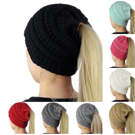 Original Pony Tail Beanie - Rewards Bonanza