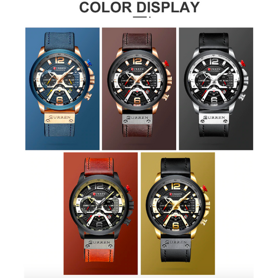 CURREN Luxury Watch - Rewards Bonanza