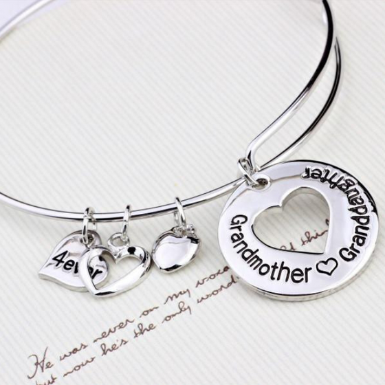 The Love Between Grandmother Granddaughter is 4ever-Bangle (Ships From USA) - Rewards Bonanza