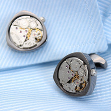 Rotor Motors Watch Engine Cufflinks - Rewards Bonanza