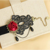 Trendy Deep Rose Anklet (Ships From USA) - Rewards Bonanza