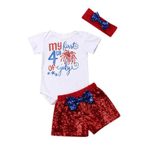 Fashion Newborn Baby Girl Boys 4th of July Clothes - Rewards Bonanza