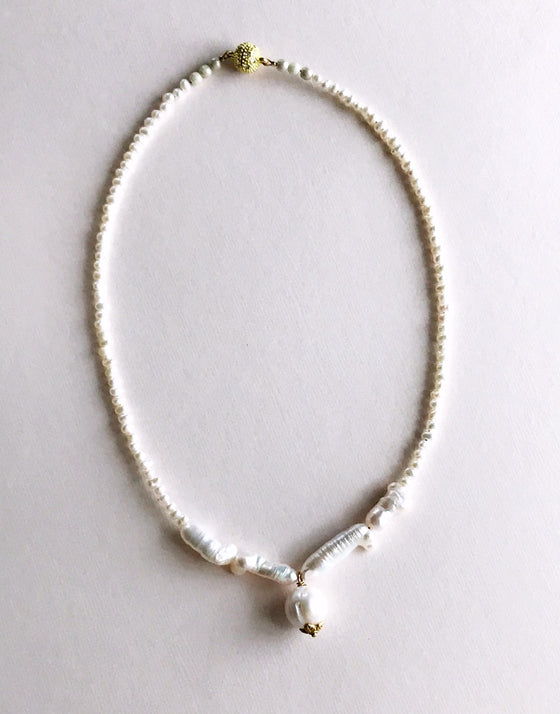 infinity pearl necklace - Rewards Bonanza
