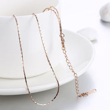1MM_46CM_5CM 18K Rose Gold Singapore Classic Chain - Rewards Bonanza