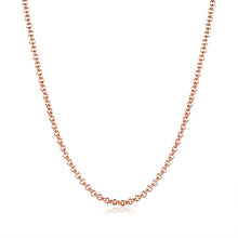 1.5MM_46CM_5CM 18K Rose Gold Plated Sleek Link Chain Necklace - Rewards Bonanza