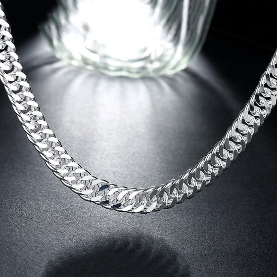 Classic 10mm Miami Cuban Chain Necklace - Rewards Bonanza