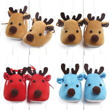 Newborn Infant Baby Boy Girl Christmas Crib Shoes - Rewards Bonanza