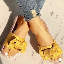 Slippers Women Summer Beach Bow Summer Sandals - Rewards Bonanza