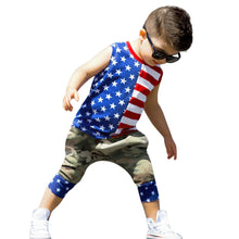Smmer Small Fresh Toddler Baby 4th of July Stars - Rewards Bonanza