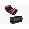 Roll 'n' Go Travel Cosmetic Bag - Black or Red (Ships from USA) - Rewards Bonanza