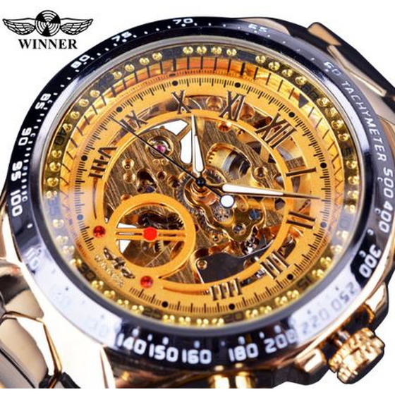 Forsining Mechanical Wrist Watch Men-M4 - Rewards Bonanza