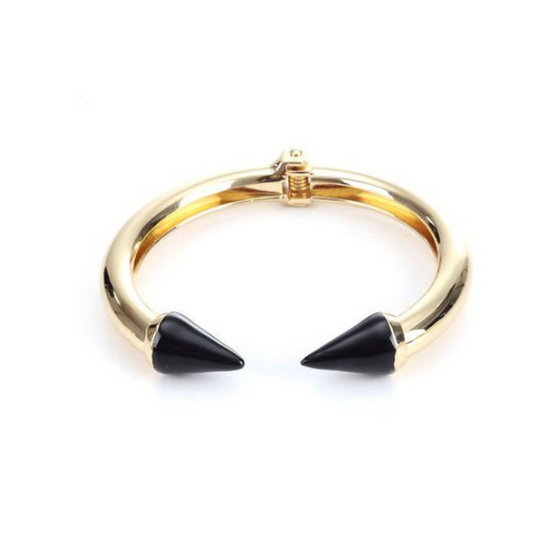 Black Love Arrow Bangle  (Ships From USA) - Rewards Bonanza