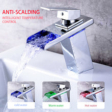 LED Bathroom Basin Faucet Brass Mixer Tap - Rewards Bonanza