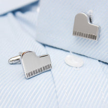 Grand Piano Cufflinks - Rewards Bonanza