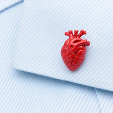 Red Hearts Cufflinks - Rewards Bonanza