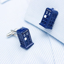 Police Box Cufflinks - Rewards Bonanza