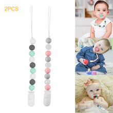 Food-grade Silicone Teething Beads Nipple Clip - Rewards Bonanza