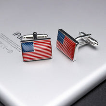The United States Flag Cufflinks - Rewards Bonanza