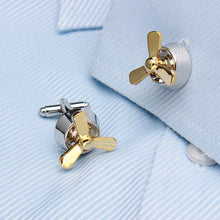 Propeller Cufflinks - Rewards Bonanza