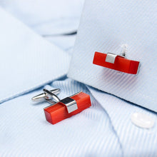 Ruby Cufflinks - Rewards Bonanza