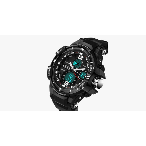 Men's White Sport Watch (Ships From USA) - Rewards Bonanza