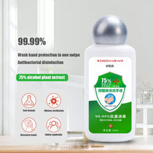 120ml 75% Quick-drying Alcohol Disposable Hand Sanitizer Hands-Free Water Disinfecting Hand Wash Gel Hot SaleS316 - Rewards Bonanza