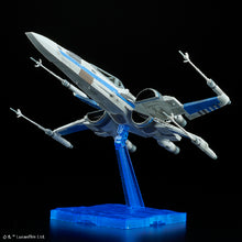 Load image into Gallery viewer, Bandai Star Wars The Last Jedi Blue Squadron Resistance X-Wing Fighter (Model Kit)