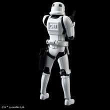 Load image into Gallery viewer, Bandai Star Wars 1/12 Stormtrooper (Model Kit)
