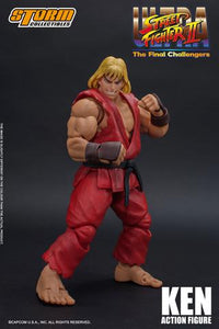 Storm Collectibles Ultra Street Fighter II Ken Action Figure