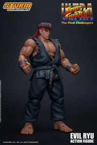 Storm Collectibles Ultra Street Fighter II Evil Ryu Action Figure
