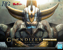 Load image into Gallery viewer, Bandai High Grade 1/144 UFO Robot Grendizer (Infinitism) Black Ver. (Model Kits)