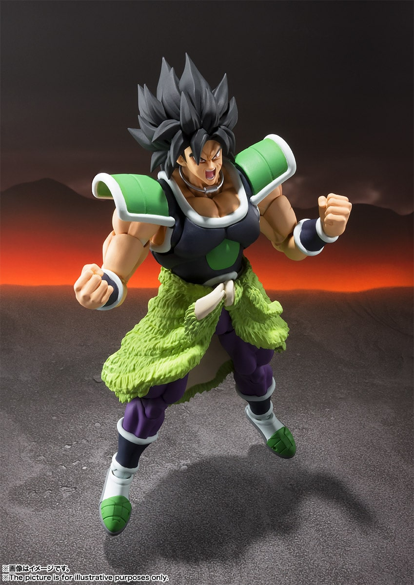 Bandai S.H.Figuarts Dragon Ball Broly Super