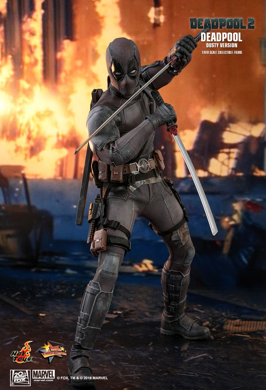 Hot Toys Marvel Deadpool 2 Deadpool - Dusty Ver 1/6th Scale Collectible Figure