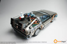 Load image into Gallery viewer, Kids Logic Back To The Future ML02 1/20 Magnetic Floating DeLorean Time Machine